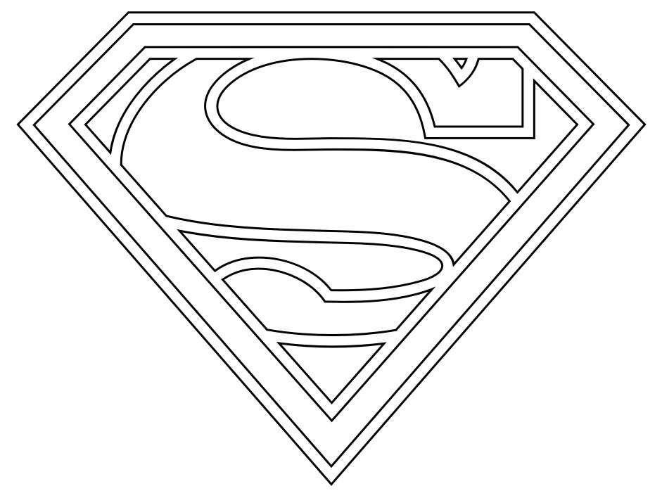 Image Result For Stemma Superman Da Stampare Rose Pinterest