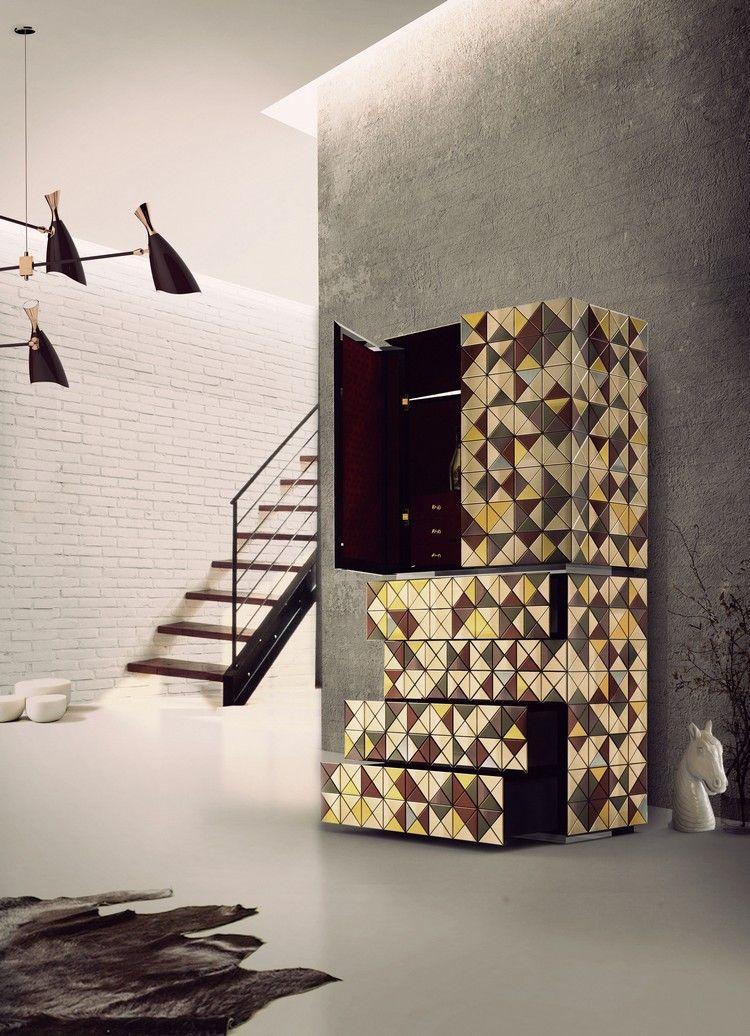 Wohnzimmer Design, Moderne Wohnzimmer, Wohnzimmer Ideen, Terrakotta,  Zeitgenössische Schränke, Moderne Wohnräume, Buffets, Contemporary Decor,  ...