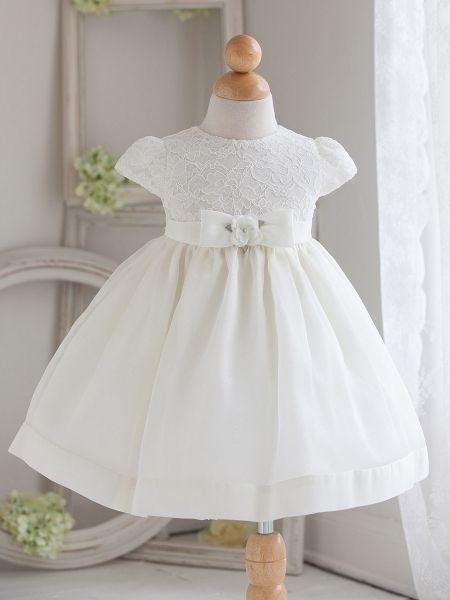b389edb34c37 White Christening Dresses For Baby Girl Ideas