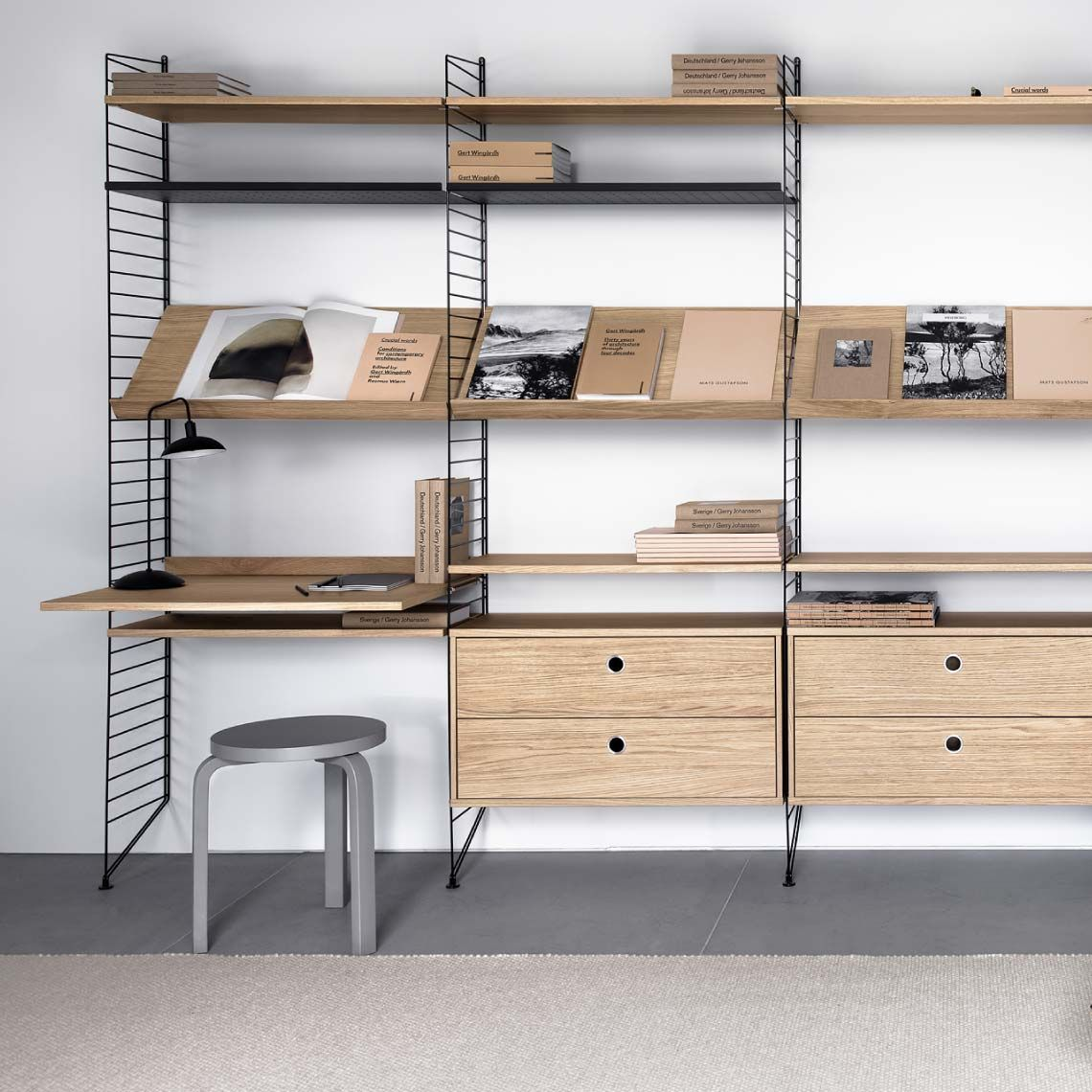 Stringhylla Skrivbord Barnrum Home Office Furniture Home Furniture