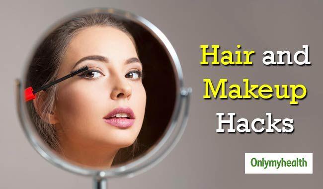 Make-up und Hair Hacks, die jedes Mädchen kennen muss - #abnehmen #beratunggesundheit #darmgesundhei...