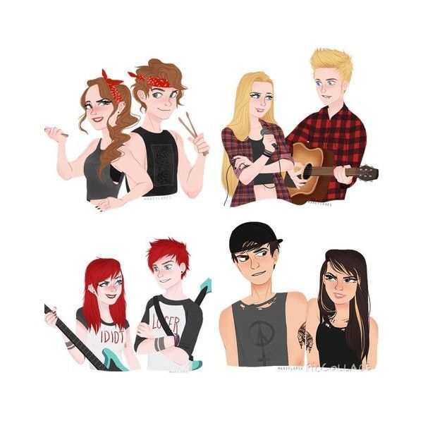 the answer is no a a liked on polyvore featuring 5sos
