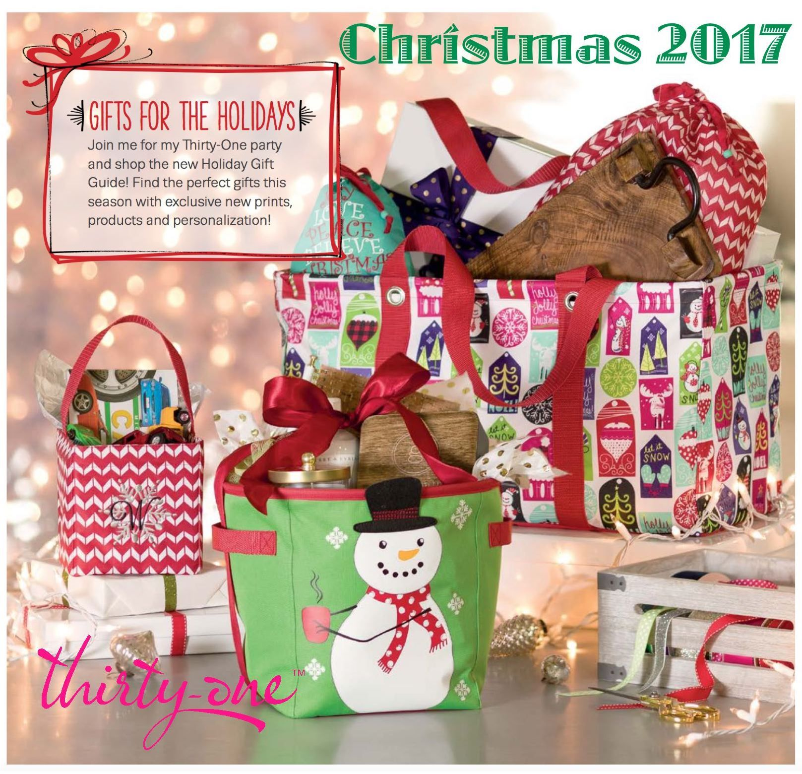 GIFTS FOR THE HOLIDAYS! Join your consultant for a Thirty ...