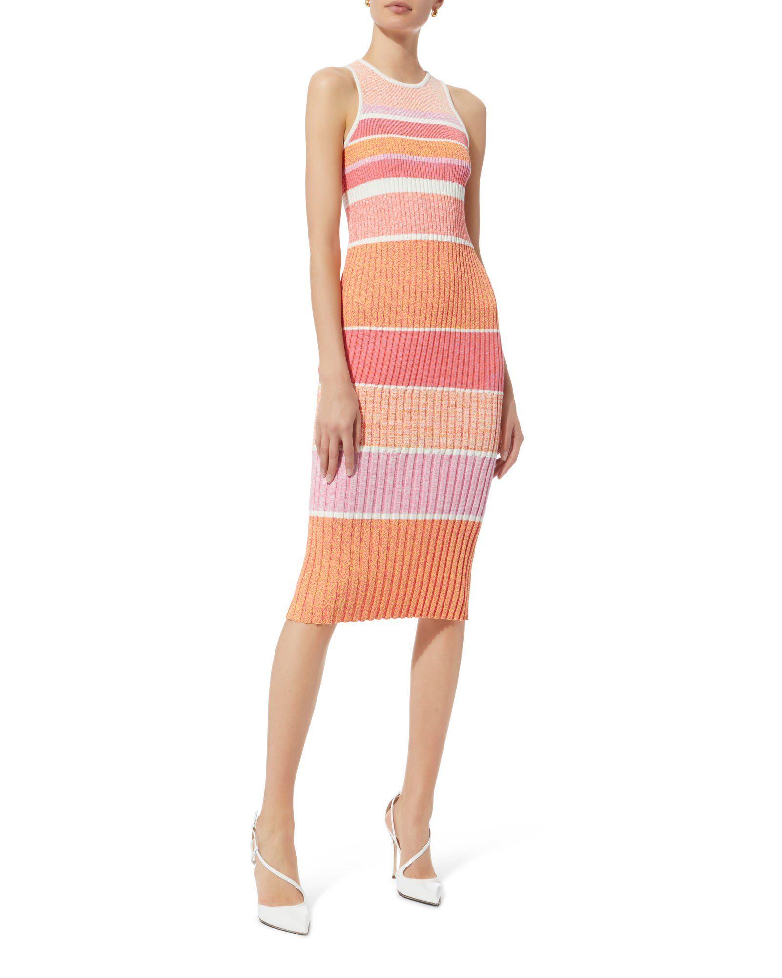 Tank Pink Stripe Knit Dress Striped Knit Striped Knit Dress Knit Dress [ 2000 x 1601 Pixel ]