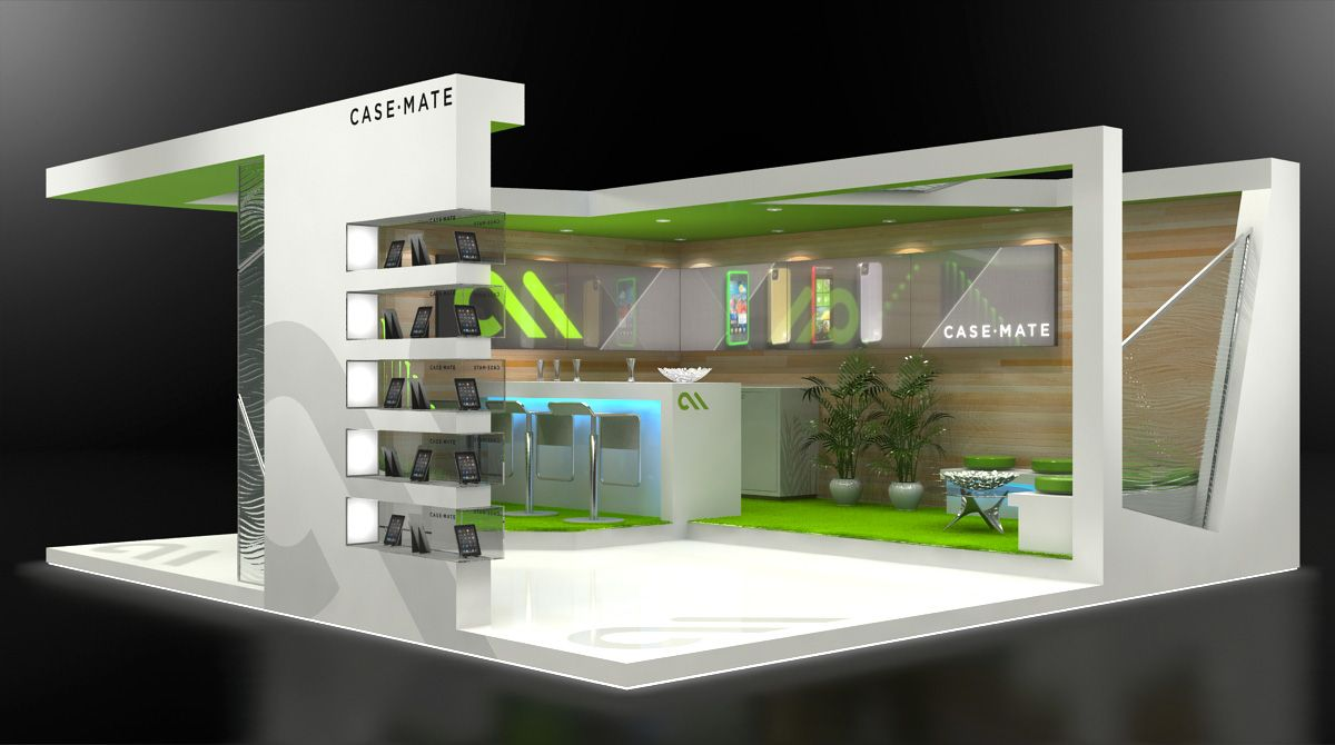 Exhibition Stand Vray : Custom exhibit design using ds max and vray