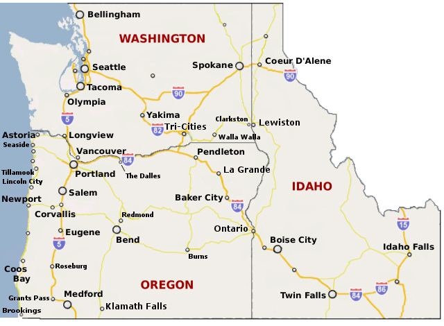 Major Cities Of Oregon Reasons To Live In Oregon Pinterest