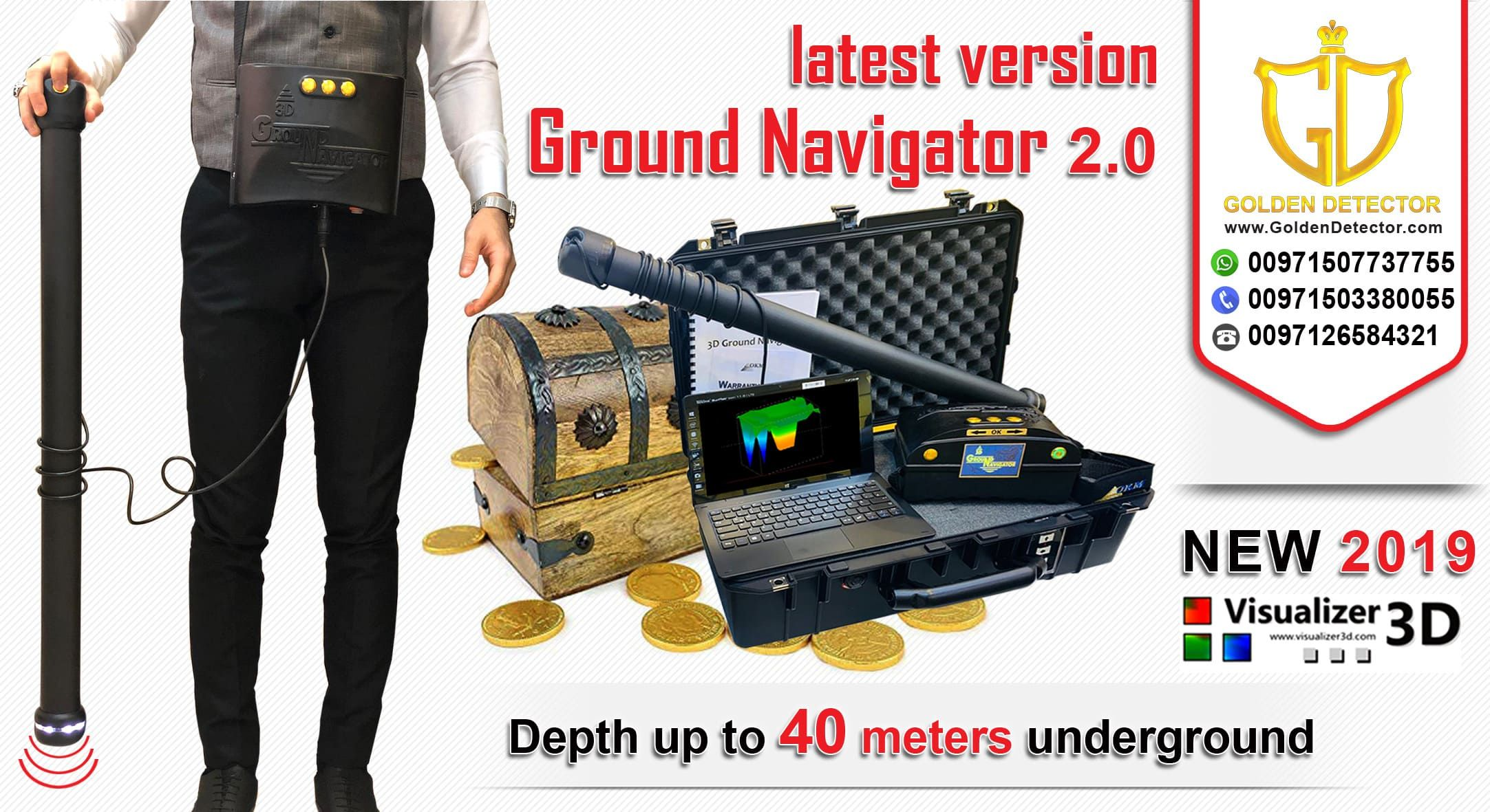 gold detector ground navigator 2019 Gold detector