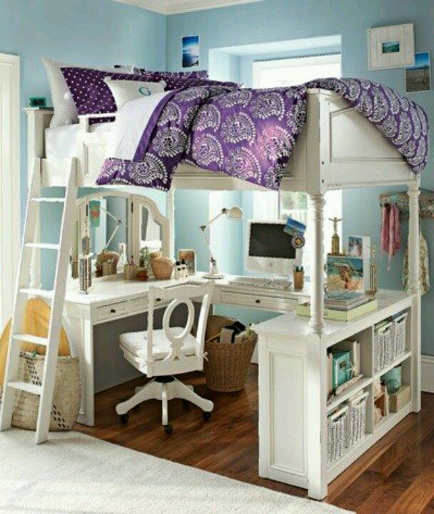 Pottery Barn Teens Bed Inspiration Home Girls Room
