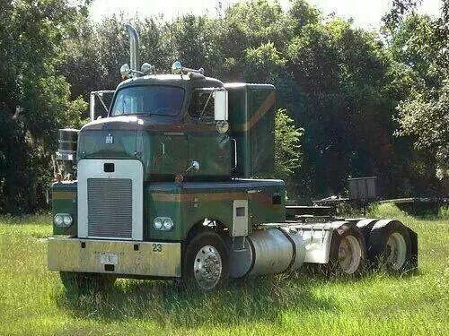 Old School Big Rig Trucks Big Trucks