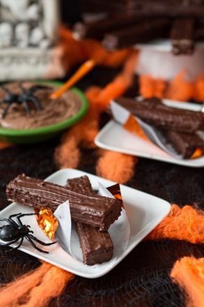 Home made Vegan Kit Kat Recipe - Halloween party   Vegan ...