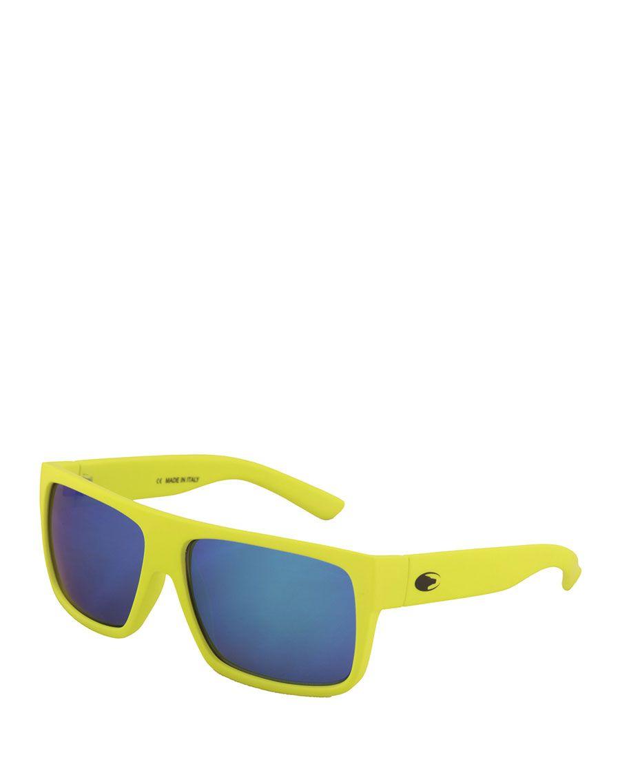 Occhiali da sole no limits modello shifty - montatura nei colori moda in policarbonato, lenti specchiate blu di forma re - Occhiale da sole Giallo