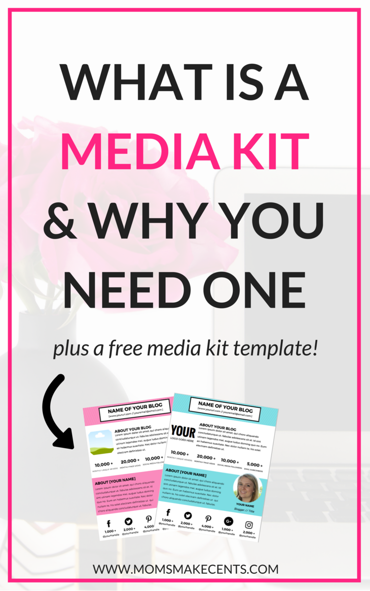 What Is A Media Kit & Why You Need One — Moms Make Cents Teaching ...