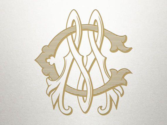 Wedding Monogram Logo Cm Mc Monogram Logo Digital Etsy Wedding Logo Monogram Monogram Logo Monogram