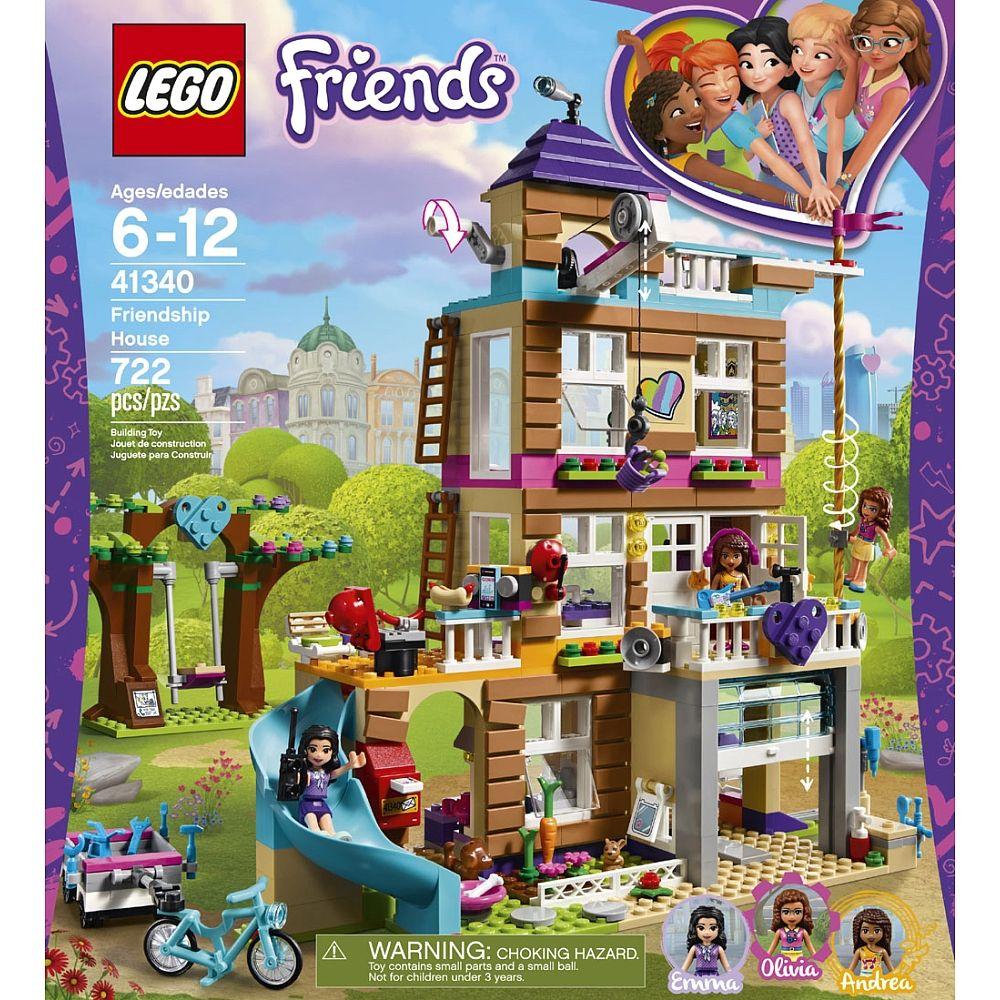 La maison de lamitié lego friends est lendroit idéal où les
