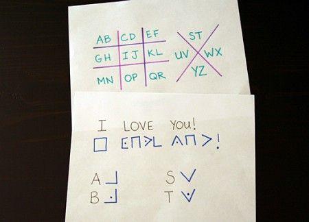 secret codes for kids  I totally remember having secret