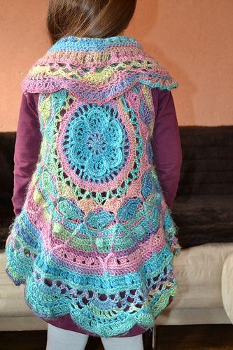 Ravelry: witchblaster's Sophie's Universe Circular Vest