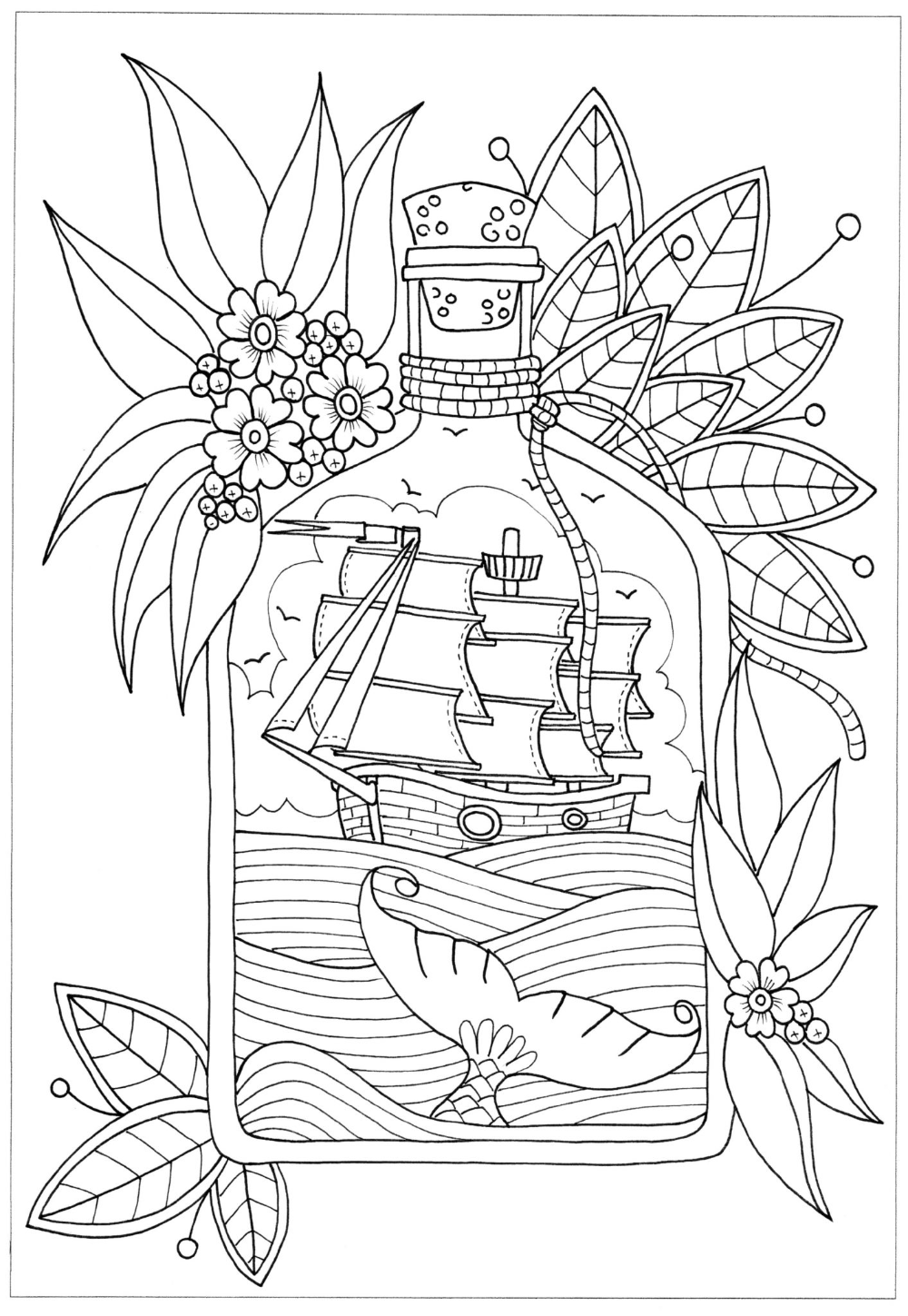 Printable Pirate Color Pages 101 Activity Coloring Pages Coloring Books Doodle Coloring