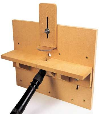 Horizontal router table built very simply with 34 mdf the curved horizontal router table built very simply with 34 mdf the curved greentooth Choice Image