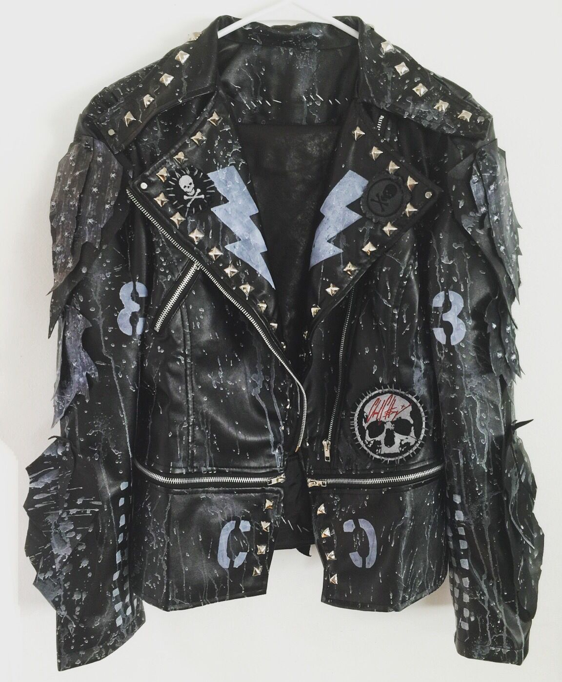 Rocker Jackets from Chad Cherry Clothing Punk Rock