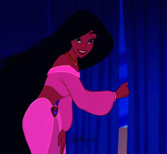 Princess Jasmine Looks Even More Alluring When She Lets Down Her