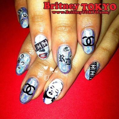 Contemporary Nail Art By Britney Tokyo Tokyo
