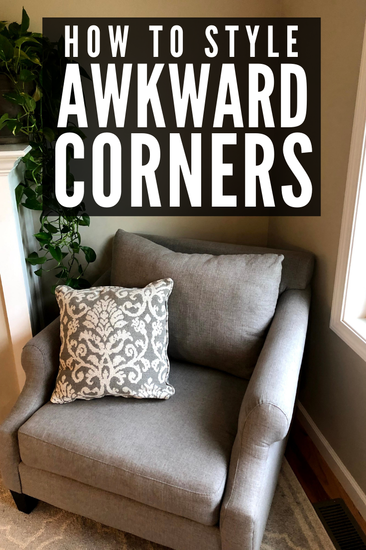 It Can Be Really Hard To Find Good Corner Decorating Ideas Every House Has That Awkward Corner That Yo Corner Decor Corner Decorating Ideas Living Room Corner