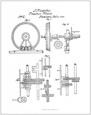 US Patent No. 00001, this was first patent issued after the fire of 1836 that destroyed the previous records.