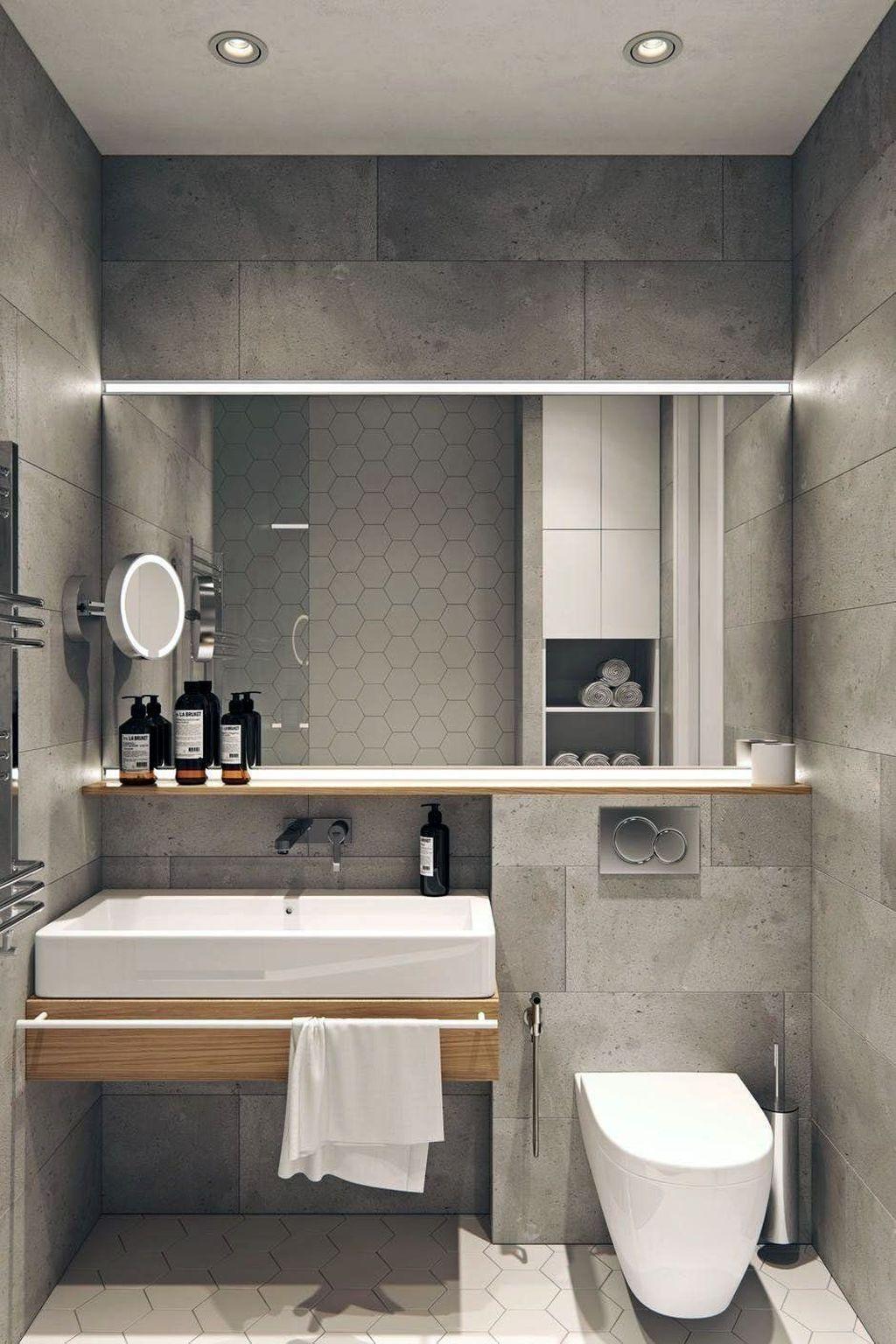 Awesome 39 Best Minimalist Bathroom Design Ideas For Home Decor Restroom Design Minimalist Bathroom Minimalist Bathroom Design Minimalist bathroom design ideas