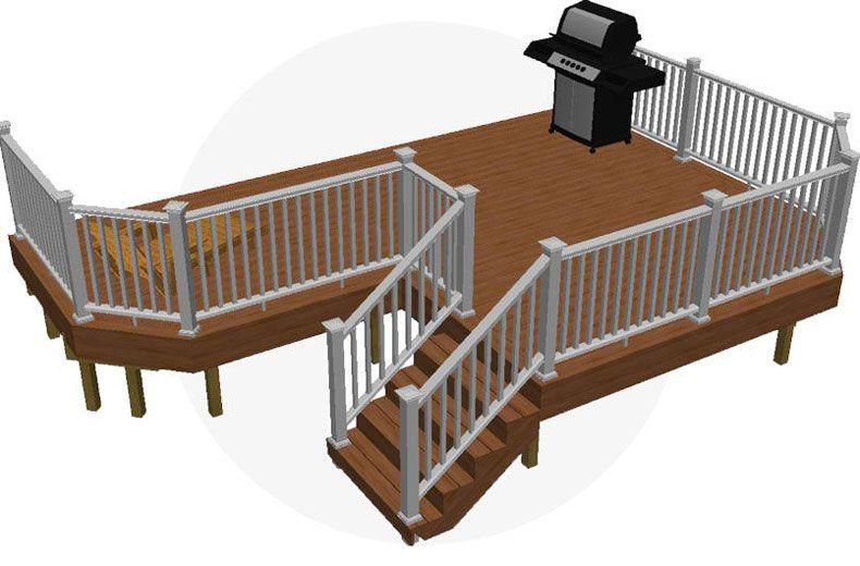 Image Result For L Shaped Deck Plans Building A Deck Diy Deck Deck Building Plans