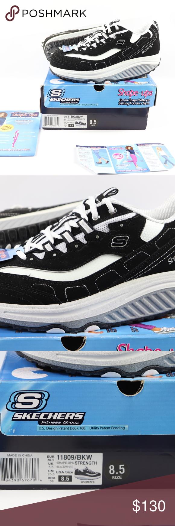 New Skechers Womens 8.5 Shape Up Walking Shoes Skechers