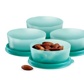 6099d612c0a6 Tupperware Little Wonders Bowls Dating Gift Color may vary. | pretty ...