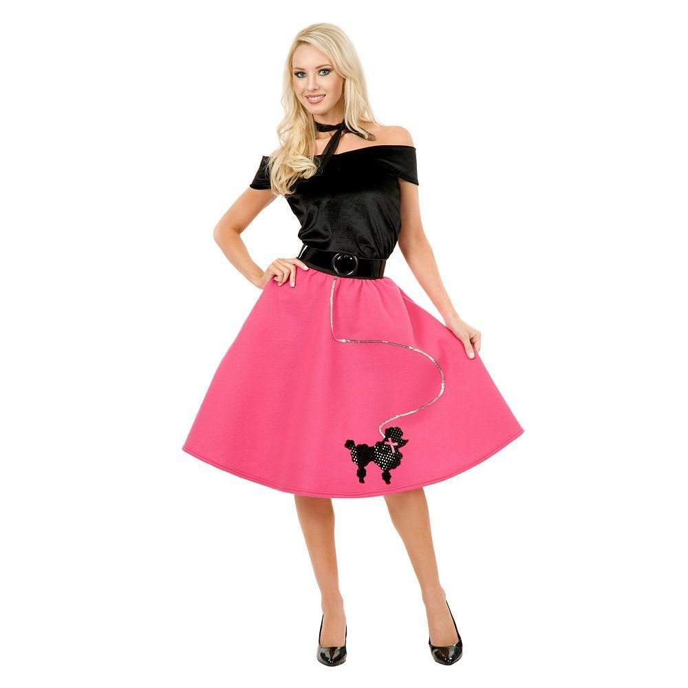 Plus Size Poodle Skirt Costume