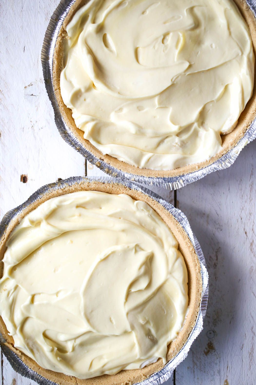 Easy Banana Cream Pie #bananapie