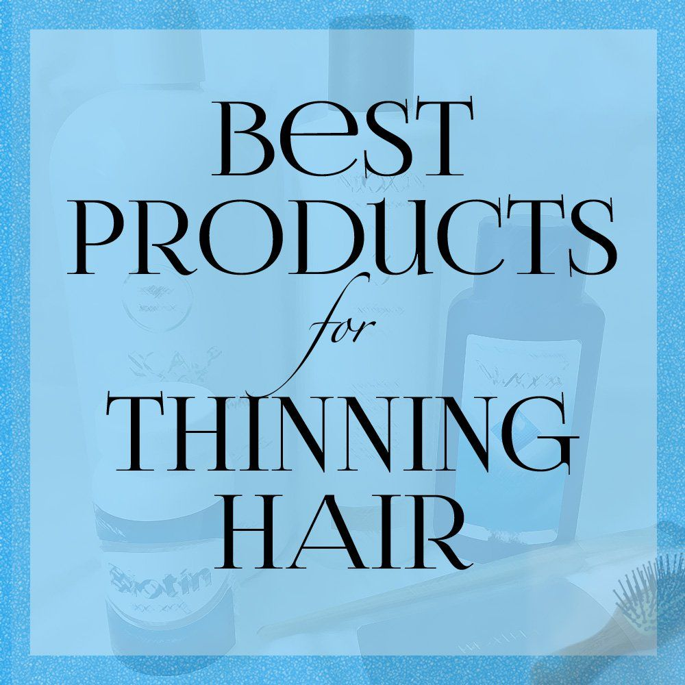 Best Products for Thinning Hair Thin hair styles for