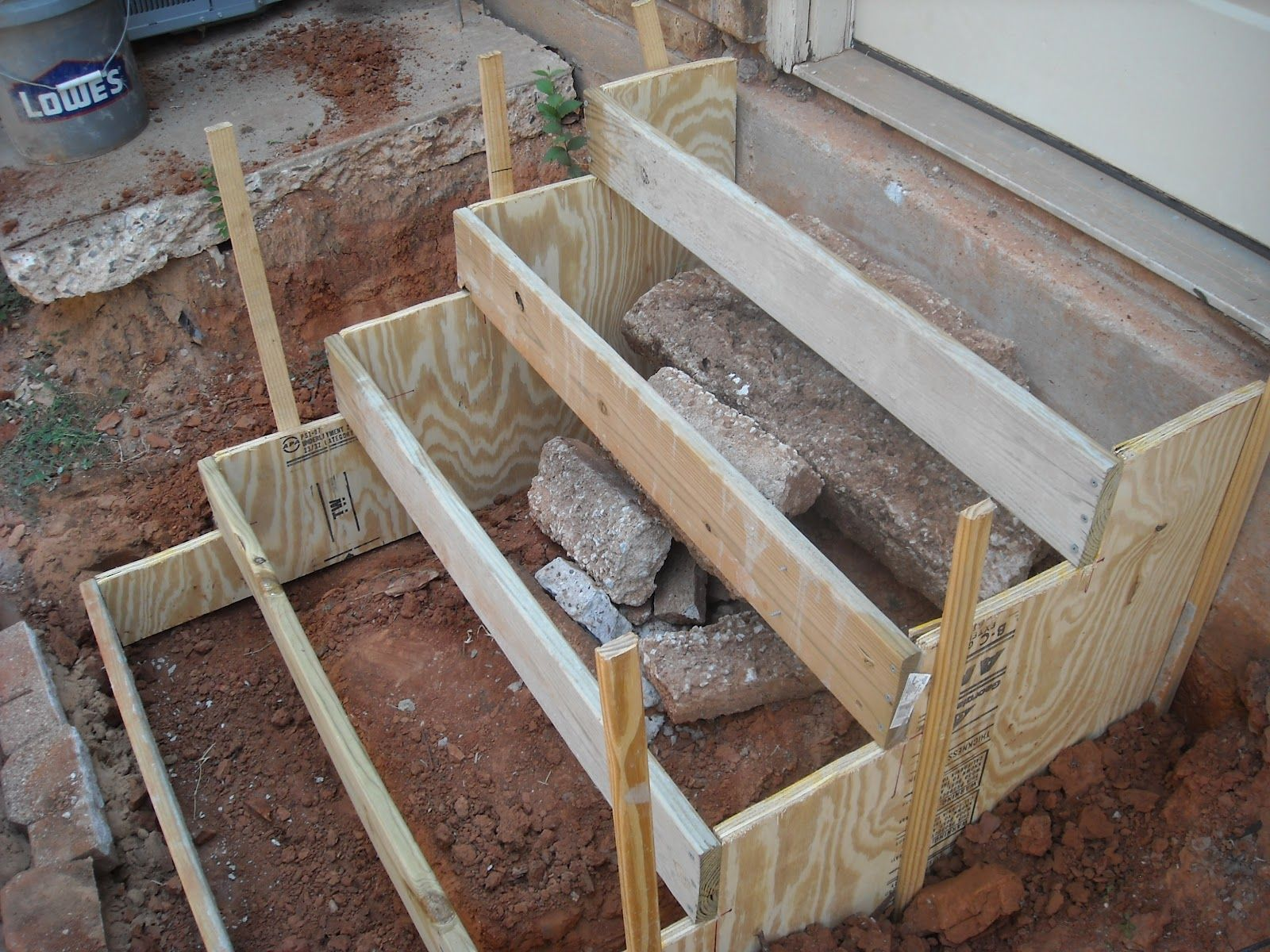 How To Make Concrete Stairs Diy Stairs Concrete Stairs