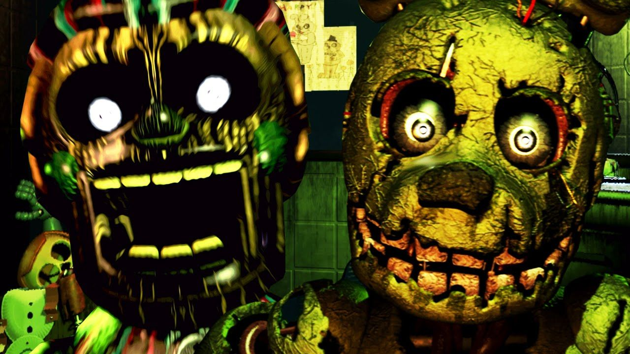 Five Nights At Freddy S 3 Balloon Boy Nightmare Night 1 And 2