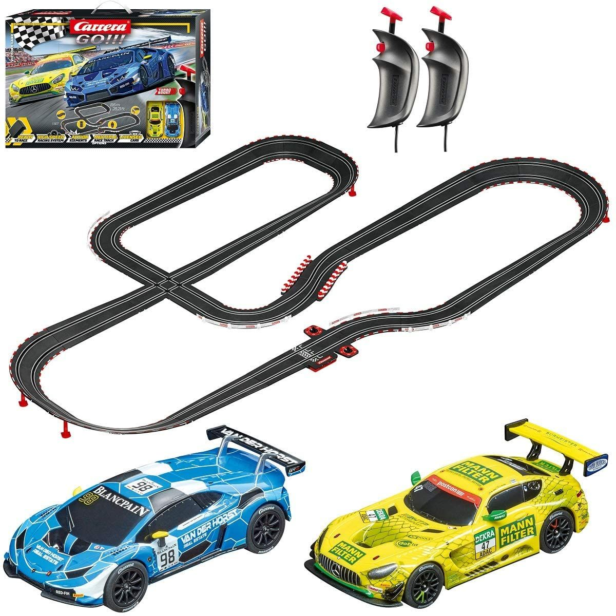 Carrera Go 62522 Victory Lane Electric Powered Slot Car In 2020 Slot Car Racing Toy Race Track Slot Cars