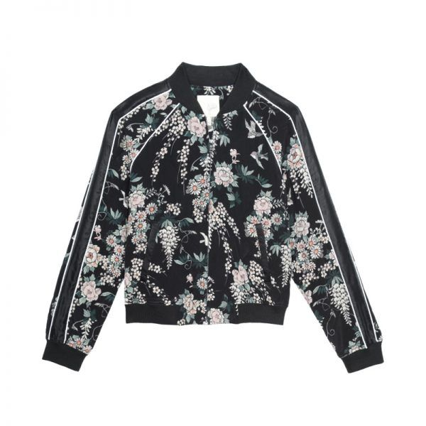 """- """"Spring is all about the bomber, and this style from Joie has me ready for warmer temps.""""Joie Women's Mace Bomber, $428"""