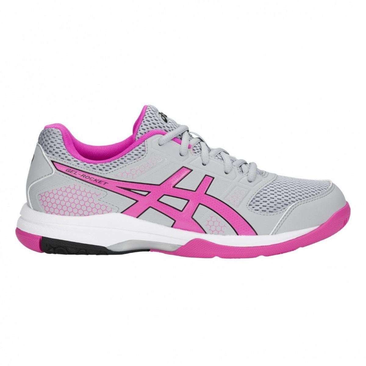 Asics Gel Rocket 8 W Volleyball Shoes B756y 020 Grey Grey Volleyball Shoes Asics Women Gel Asics Women