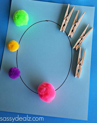 Pom Pom Easter Egg Painting Basteln für Kinder – Sassy Dealz