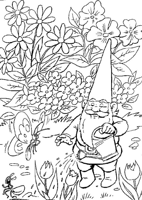 23 Coloring Pages Of David The Gnome On Kids N Fun Co Uk Op Kids N