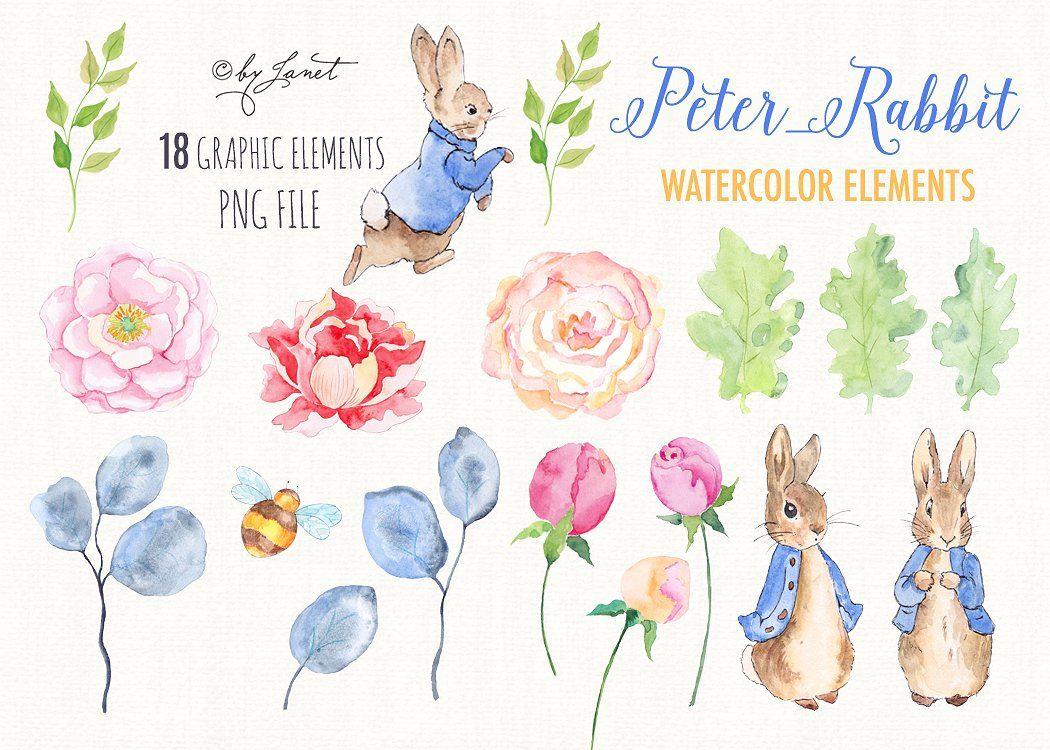 mr rabbit watercolor clipart peter rabbit  rabbit and peter rabbit clipart black and white peter rabbit clipart png