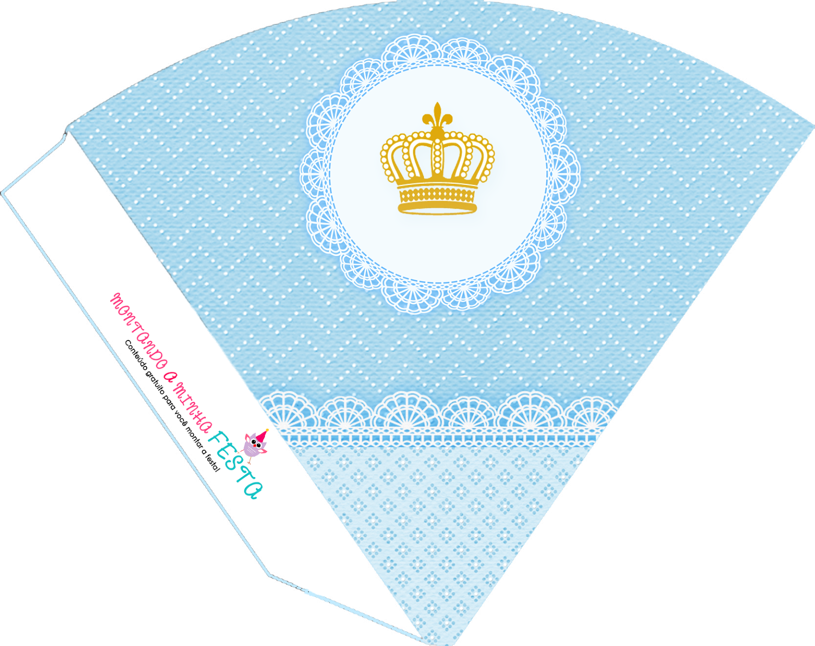 Esse kit é para quem gosta do estilo provençal! Foi muito pedido por nossas leitoras, o tema coroa de príncipe é muito usado hoje em di...
