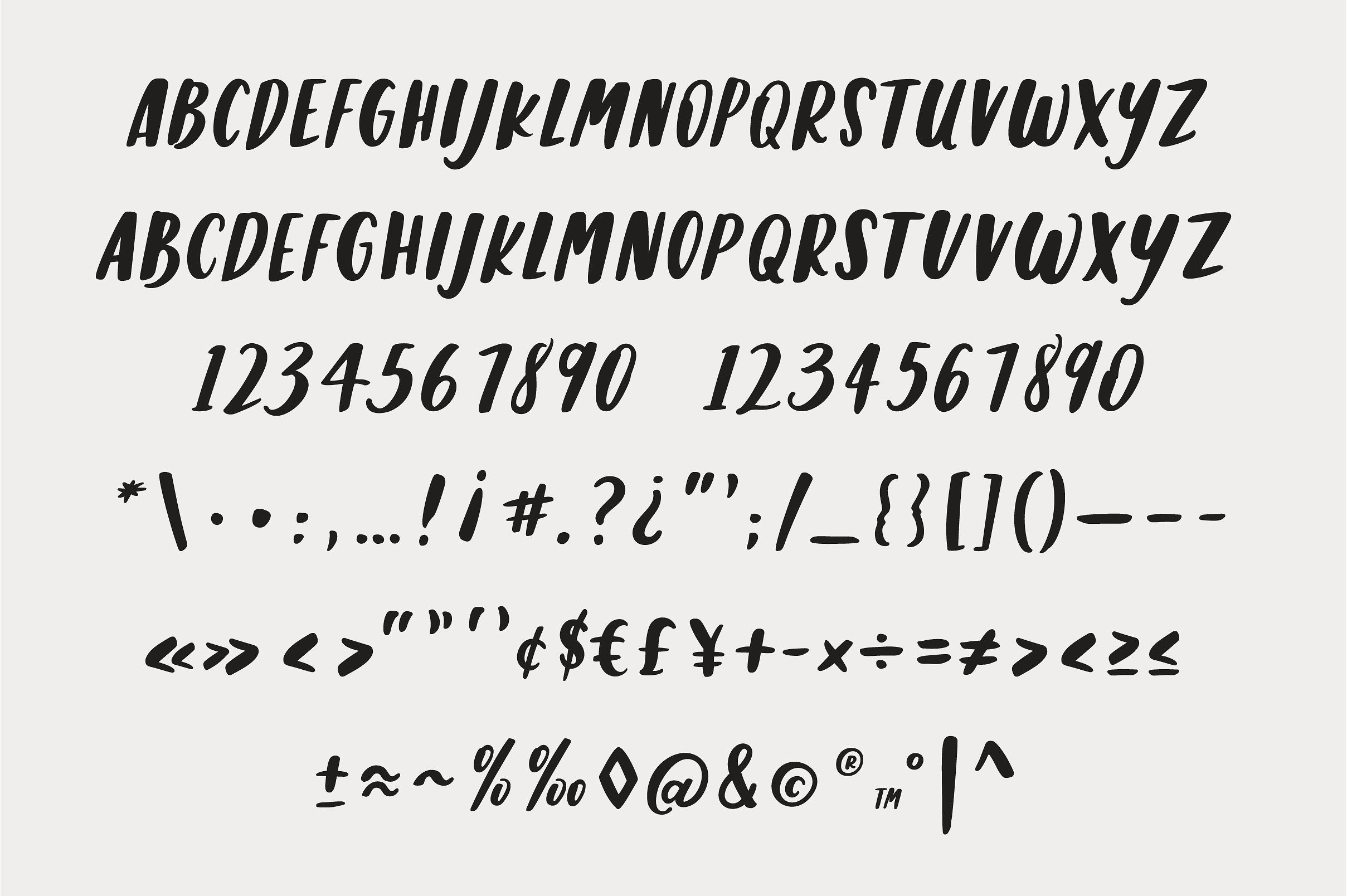Stella Caps: A Handlettered Font by Maggie Waller on