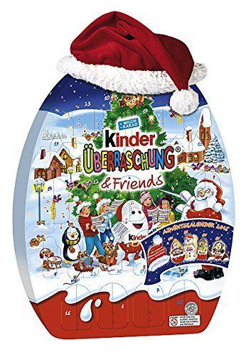 Kinder Weihnachtskalender.Kinder Uberraschung Und Friends Adventskalender 1er Pack 1