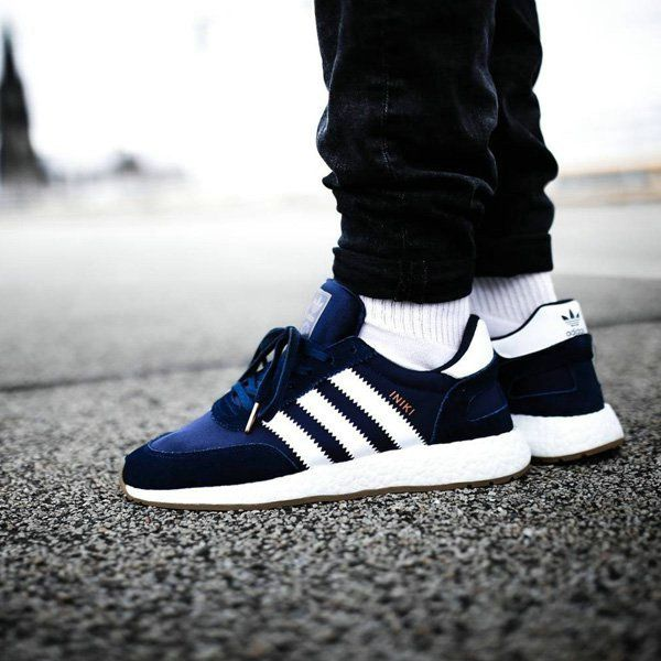 Newest Adidas Zapatillas adidas Iniki Runner Boost Marina Gum 2017