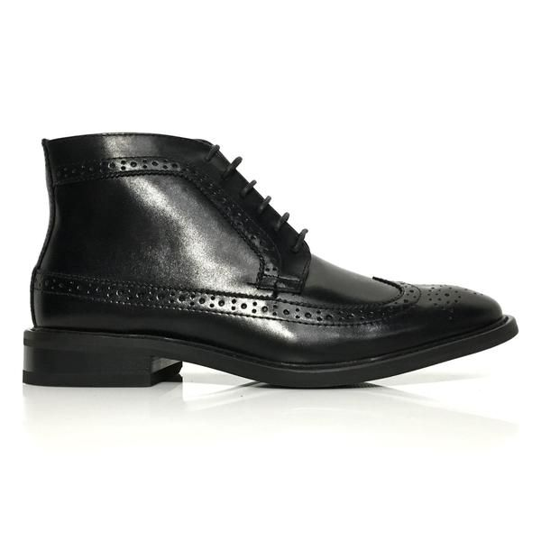 258a52c6932 Wingtip Ankle Boots - New Edition Fashion | Men's Formal Boots ...