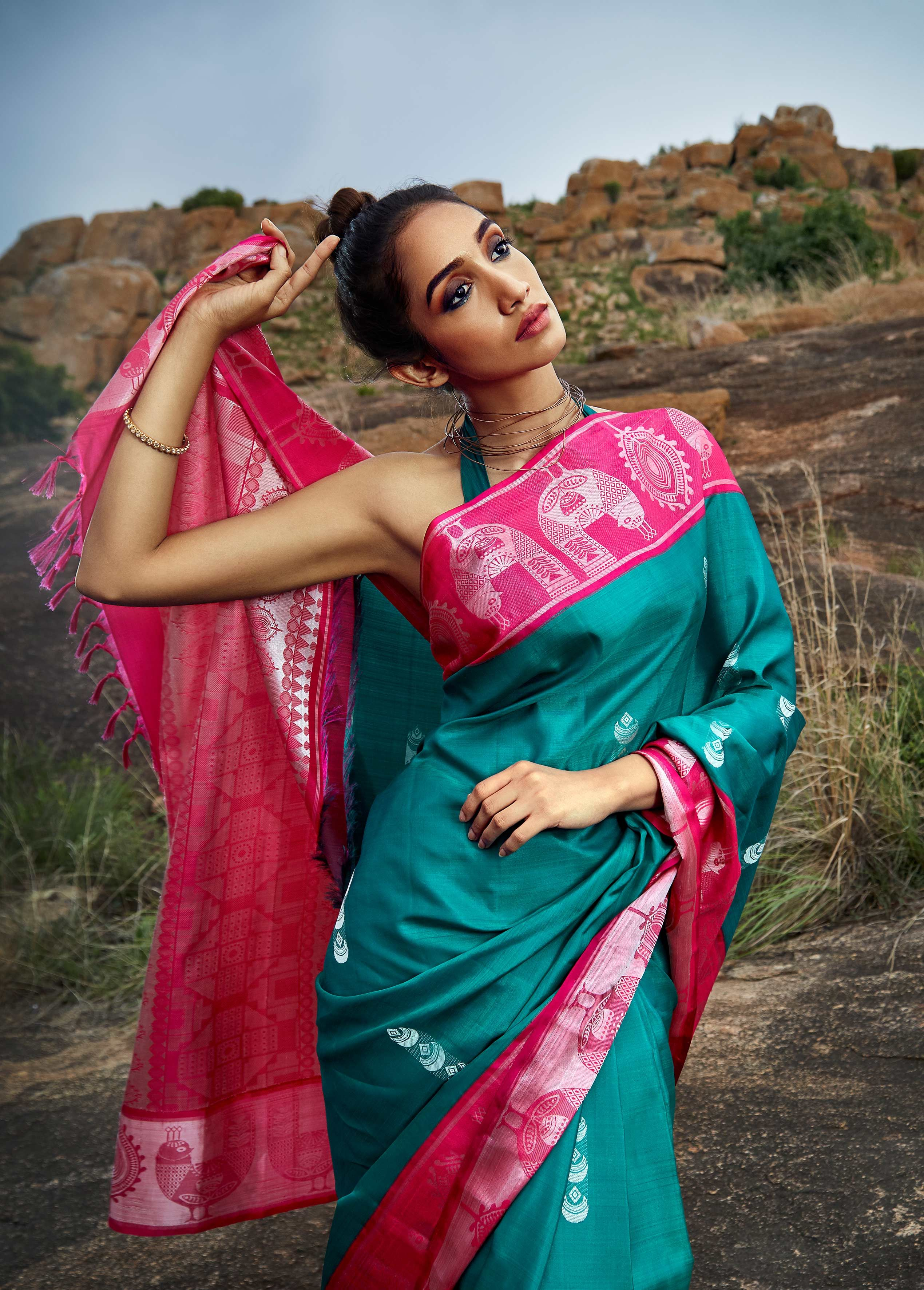 be4979c65d Folklore - Glorious Kanchivarams Inspired From Ancient Indian Design  Aesthetics • Keep Me Stylish
