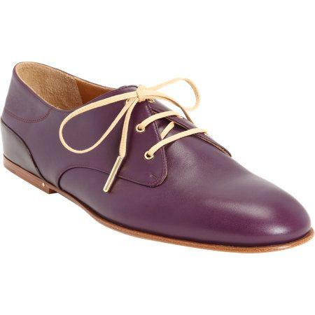 Chloé Patent Heel Oxford at Barneys.com