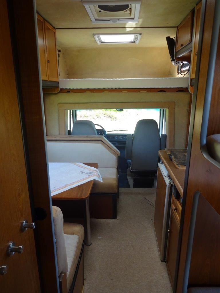 Wohnmobil Niesmann Bischoff CLOU 570 E Oldtimer 6 Sitzer in TOP ...